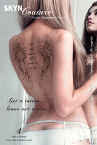 Skyn Coutoure Temporary Tattoo